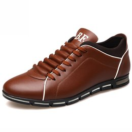 $enCountryForm.capitalKeyWord Australia - Fashion Genuine Leather Men Shoes High Quality Men Casual Shoes Brand 39 S Baskets Sneakers Flat Men's Sneakers