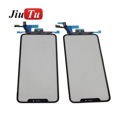 $enCountryForm.capitalKeyWord Australia - Refurbishment Part Front Glass WithTouch Digitizer For iPhone XS Max Cracked LCD Repair Fix DHL Free ShippingJiuTu