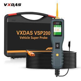 Engine 24v Australia - VXDAS VSP200 OBD2 Auto Circuit Diagnostic Tools 12V-24V Truck Battery Tester Power Tools AUTEK YD208 Vehicle Super Probe Kit
