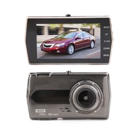 "Drive Camera Australia - New car DVR driving record camera 2Ch video registrator 4"" 170 degrees 1080P full HD G-sensor night vision motion detection parking monitor"