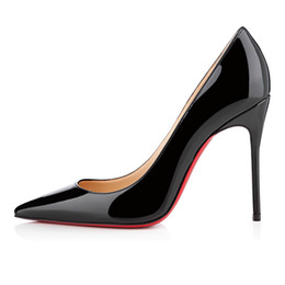 $enCountryForm.capitalKeyWord UK - New Designer Shoes sneaker So Kate Styles High Heels Red Bottoms 8CM 10CM 12CM Leather Point Toe Pumps Rubber Dress Wedding Shoes