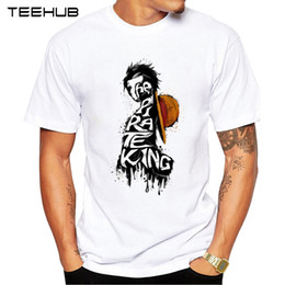 $enCountryForm.capitalKeyWord NZ - New Arrivals 2019 TEEHUB Cool Design Men's Fashion Hats Of King Pirate Printed T-Shirt Short Sleeve O-neck Tops Hipster Tee