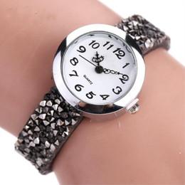 $enCountryForm.capitalKeyWord Australia - Watches Women Fashion Crystal Rhinestone Bracelet Watch Ladies Quartz Luxury Vintage Women Watch Gift Dropshipping 4.6