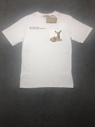 $enCountryForm.capitalKeyWord Australia - mens 2019 luxury designer clothes High Quality deer Bambi pattern letter UK Brand t-shirt mens designer t shirts streetwear box logo handbag