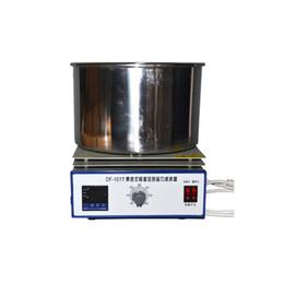 $enCountryForm.capitalKeyWord Australia - Magnetic Stirrer Laboratory Digital Constant Temperature Oil Bath Stirring Instrument Industrial Magnet Lab Stirrer Mixer DF-101T-5L