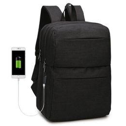 Discount man fashion school back pack - Usb Student School Backpack Bag Travel 15.6 Inch Business Computer Bags Back Pack Waterproof Backpacks Men Laptop Bag Ba