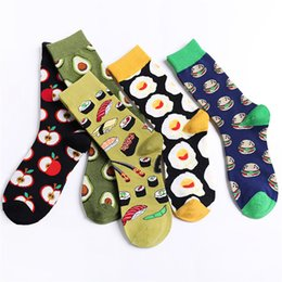 $enCountryForm.capitalKeyWord Australia - 16 Colors choice funny socks women socks cotton Color Block Warm Colorful Casual fruit chaussettes femme