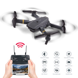 Professional Toy Helicopter Australia - Pocket Foldable Mini RC Drones with Camera HD Professional Wide Angle Remote Control Helicopter Educational Toys for Children