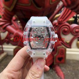 $enCountryForm.capitalKeyWord Australia - 2019 hot men's watch, imported automatic mechanical movement, blue coated glass mirror, diameter 43mm, original rubber strap.