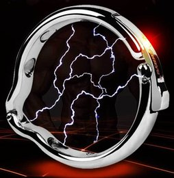 $enCountryForm.capitalKeyWord Australia - Aluminium alloy penis glans ring with magnet Metal Cock Ring for men Magnetic therapy cockrings sex toys for men