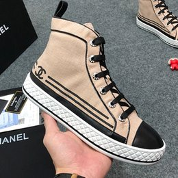 Women Canvas Shoes Colors NZ - High Quality Women Canvas Shoes Boots 2019 New Autumn Fashion Boots High Top Flats Women Vulcanized Shoes Factory Outlet Female Casual Shoes