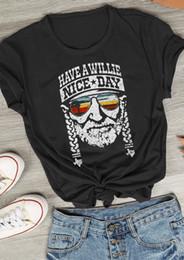 $enCountryForm.capitalKeyWord Australia - New Fashion Women T-Shirt Summer Short Sleeve Have A Willie Nice Day Print Character O-Neck Female Casual T Shirt Ladies Tops Tee