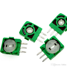 Wholesale Remote control aircraft rocker RC airplane potentiometer piece B502 502 5K 60° 50° 45°