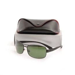 $enCountryForm.capitalKeyWord UK - Wholesale-New Classic mens Brand Designer Sun glasses womens Sunglasses 3379 Glass Lens Sunglasses fashion unisex glasses with cases boxs