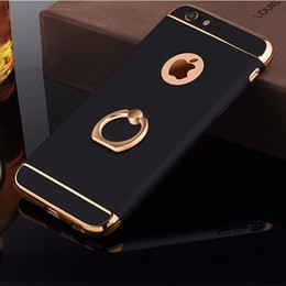 $enCountryForm.capitalKeyWord Australia - Luxury 3D Aluminum Ring Stand Holder Cases For iPhone 7 6 6S Plus Removable 360 Full Protection Phone Cover for iPhone 5 S 5S SE
