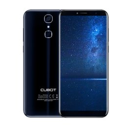 System Cards Australia - Cubot X18 Smartphones Finger ID 5.7inch MT6737T Android7.0 Quad Core Dual SIM Card 3GB RAM 32GB ROM 4G LTE Cell phones