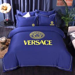 $enCountryForm.capitalKeyWord Australia - Fashion Bedding Bed Comforters Sets Designer MENGZIQIAN King Size Beding Set Washed Silk Four Pieces Set Of Silky Sheets Bed Sets