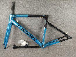 58cm frame 2019 - T1000 UD Matte-Glossy finish 2018 Newest Sagan Blue Black SL6 carbon road frames with 49-52-54-56-58cm for your selectio