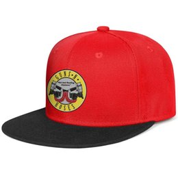 Chinese  Guns-N'-Roses-Not-Just-Roofing for men and women flat brim hats red snapback design kids hats sports design your own custom your own Design manufacturers