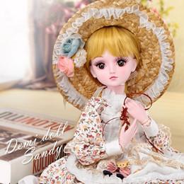 Toy Doll Australia - Doll Dressup 60cm Joint Girl Toy Simulation Wedding Princess Doll Birthday Gift Set