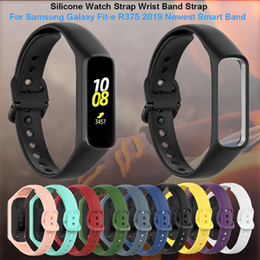 $enCountryForm.capitalKeyWord Australia - New Silicone Watch Strap Wrist Band Strap for Samsung Galaxy Fit-e R375 Smart Bracelet Wristbands Replacement Watch Band Strap Accessories