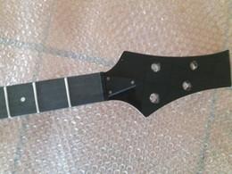 Fender Basses Australia - New 24 fret rosewood fingerboard 2+2 tuner holes 4 string maple bass neck