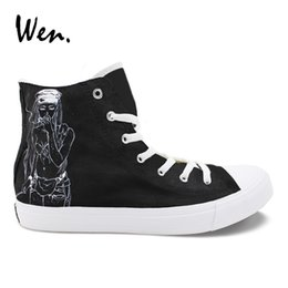 5e1be55ae03325 Wen Hand Painted Men Shoes Death Grips Design Custom High Top Women s  Casual Canvas Sneakers for Boys Girls Christmas Gifts  209662