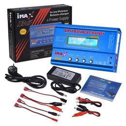 $enCountryForm.capitalKeyWord NZ - Hot Selling iMAX B6 80W 6A Battery Charger Lipo NiMh Li-ion Ni-Cd Digital RC Balance Charger Discharger + 15V 6A Adapter