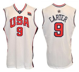 5b5311feb 2000 Olympic Team USA Vince Carter  9 Retro Basketball Jersey Mens Stitched  Custom Any Number Name Jerseys
