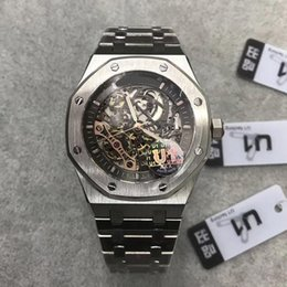 Royal stainless steel online shopping - 2019 New Arrived Automatic Mens Watch ROYAL OAK ST OO ST Series MM Skeleton Dial Multi Color Mens Wristwatch