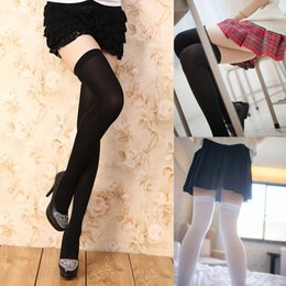 7cd1283e2db41 7 Color for Choose Fashion Women Clothing Girls Extra Long Boot Sockings Over  Knee Socking Thigh High School Girl Stocking