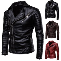 $enCountryForm.capitalKeyWord NZ - Aksr 2019 New Men's Fashion Casual Long Sleeved Motorcycle Fur Leather Jacket Slim Fit Mens Winter Coats T2190614