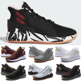 $enCountryForm.capitalKeyWord Australia - perfect D Rose 9 Zebra shoes for sale Free shipping Best Derrick Rose basketball shoes store 40-46