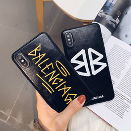 Designer iphone online shopping - Ba brand designer phone case tpu Colorful Cover for Iphone X XR XS MAX S PLUS Back Cover for Apple