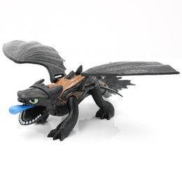 Dragons train online shopping - How To Train Your Dragon Action Figures Toys Toothless Gronckle Deadly Nadder Night Fury Toothless Dragon Novelty Items CCA11662 set