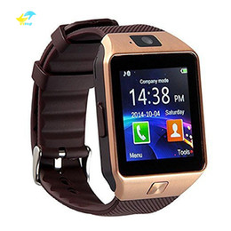 kids mobile phone gsm 2020 - Vitog DZ09 Smart Watch Wristband Android Watch Smart 2G GSM SIM Intelligent Mobile Phone Sleep State Smartwatch cheap ki