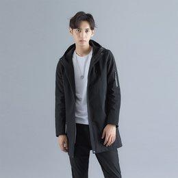 Summer Parka Australia - New 2019 Spring Summer Thin Men's Jacket Casual Men's Lover Jacket Hooded Windbreaker Zipper Parka coat