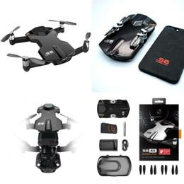 Venta al por mayor de Pocket RC Quadcopter FPV Selfie Drone 4K HD Cámara Control de teléfono Plegable RC EE. UU.