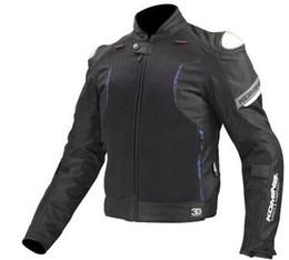 $enCountryForm.capitalKeyWord Australia - KOMINE JK107 Titanium spring breathable mesh racing ride high-performance drop resistance clothing motorcycle jacket