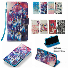 $enCountryForm.capitalKeyWord Australia - For iPhone X Case Wallet Phone Case For 6 7 8 Plus Samsung S8 Huawei 3D Painted Card Holder Kickstand Designer PU Cases