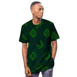$enCountryForm.capitalKeyWord Australia - African clothing men's shirt short sleeve ankara o-neck print tops customize for wedding wear male formal dashiki