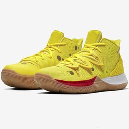 special basketball NZ - The New 2019 hococal new girl children Kyrie 5 TV PE basketball shoes special 20th anniversary sponge x Irving 5s five luxury sports shoes