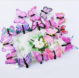 $enCountryForm.capitalKeyWord Australia - Wholesale Cheap Spring Butterfly Hair Clip , Butterfly Clips, Barrettes Hair Accessories Kids Women Girls Costume Hair Charms