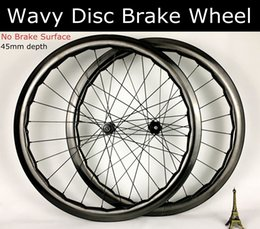 $enCountryForm.capitalKeyWord Australia - 28mm width 45mm Disc Brake carbon wheels Wavy non Dimple no brake surface DT350 hubs road bike wheelset Tubeless readyheelset