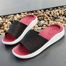 $enCountryForm.capitalKeyWord NZ - Charming2019 Flange Quality Superior Reverent Cool Shoes Male One Word Student Leisure Time Sandy Beach Slipper