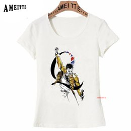 $enCountryForm.capitalKeyWord Canada - Retro Rock King Freddie Mercury Lover T-Shirt Love Queen Band Classic Music Gift T-shirt Women Vintage Tees Hip Hop Style