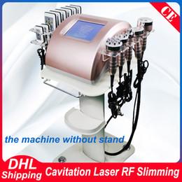 Cellulite vaCuum maChines online shopping - New Arrival Cavitation Slim RF Skin Lipo Laser Slimming Strong K Ultrasonic Vacuum Body Sculpting Cellulite Removal Slimming Machine