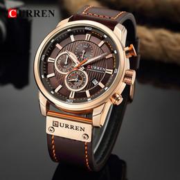 $enCountryForm.capitalKeyWord Australia - Curren Watch Top Brand Man Watches With Chronograph Sport Waterproof Clock Man Watches Military Luxury Men's Watch Analog Quartz J190716
