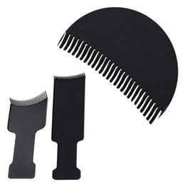 $enCountryForm.capitalKeyWord UK - Professional Black Hair Highlighting Comb DIY Hair Tint Dye Coloring Brush Salon Tool S M Sizes