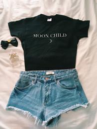 $enCountryForm.capitalKeyWord Australia - Okoufen Moon Child T-shirt Fashion Hipster Cool Top Tumblr Tees Women Summer Graphic High Quality Cotton Clothing Hip Hop Shirts Y19051301